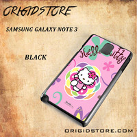 hello kitty 2 For Samsung Galaxy Note 3 Case - Gift Present Multiple Choice