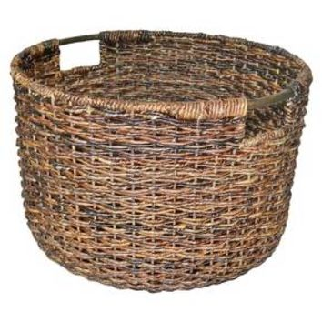 Threshold™ Global Round Decorative Basket : Target