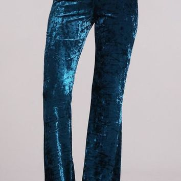 Ice Velvet Bell Bottoms