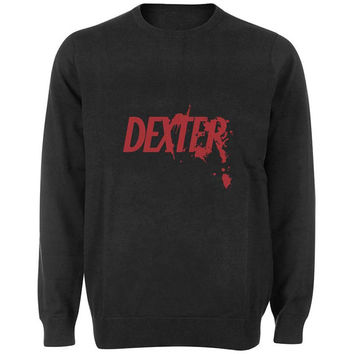 dexter sweater Black and White Sweatshirt Crewneck Men or Women for Unisex Size with variant colour
