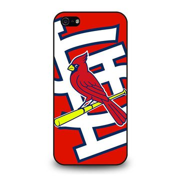 ST. LOUIS CARDINALS BASEBALL iPhone 5 / 5S / SE Case Cover