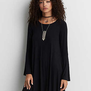 AEO Soft & Sexy Lace-Up Back, True Black