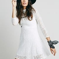 Free People Womens Flowers on the Wall Fit and Flare