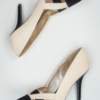 Manhattan Lady Heels in Nude