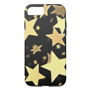 beautiful cool gold stars case