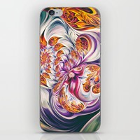 Fractal Art V iPhone Skin by tmarchev