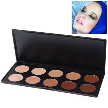 Face Concealer Essential Cosmetic Set (10 Colors)