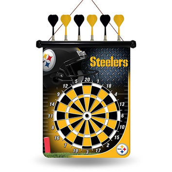 STEELERS MAGNETIC DART BOARD