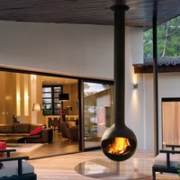 Outdoor fireplace BATHYSCAFOCUS Bathyscafocus Collection by Focus