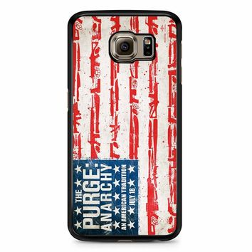 The Purge Anarchy Flag Samsung Galaxy S6 Edge Plus Case