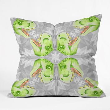 Chobopop Trex Ice Pattern Throw Pillow