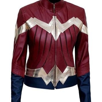 Wonder Woman 2017 Costume Jacket - New Arrival