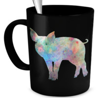 Colorful Pig Mug colorpig