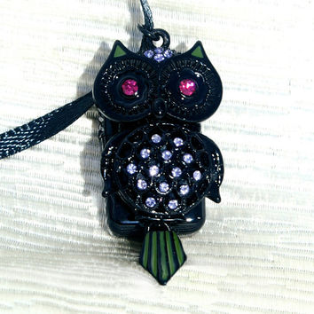 Jenna's Owl USB Flash Drive Necklace - Pretty Little Liars Inspired (LAST ONE)