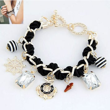 Great Deal Awesome Shiny Hot Sale Gift New Arrival Stylish Accessory Gemstone Bracelet [6573081031]