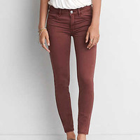 AEO Sateen X Jegging, Berry Jam