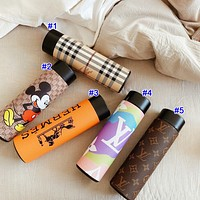 Louis Vuitton LV x GUCCI x Burberry  New Hot Sale Couple Model LED Display Stainless Steel Thermos Cup