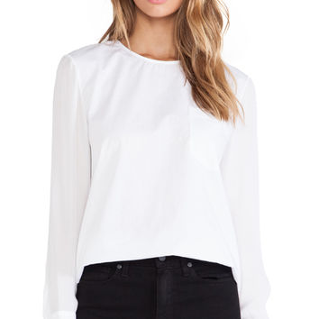 Jenni Kayne Zip Back Top in White