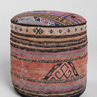 Urban Outfitters - Vintage Woven Pouf Ottoman