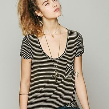 Free People We The Free Retro Stripe Tee