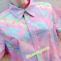 Kush-chan GiggleTree MJ Blouse, Fairykei Blouse (Men's size)