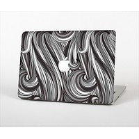 The Black & Gray Monochrome Pattern Skin Set for the Apple MacBook Air 13""