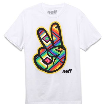 Neff Tribal Concord T-Shirt - Mens Tee - White