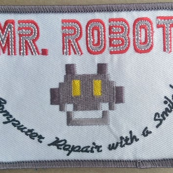 Mr. Robot Iron-on Patch