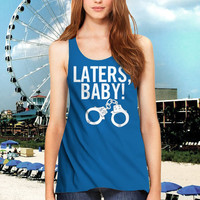 handcuffs LOVE laters baby Women Tanktop -144 Tanktop For Men  / Custom - Tanktop / Men Tanktop