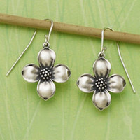Dogwood Blossom Ear Hooks | James Avery