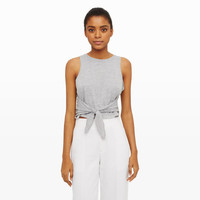 Women | Tanks and Camis | Sofye Tie-Front Tank | Club Monaco