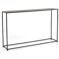 Tag Urban Narrow Console Table, Coco Brown