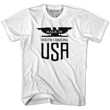 South Carolina Vintage Eagle T-shirt-Adult