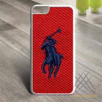 Polo Ralph Lauren Original Logo in Red Custom case for iPhone, iPod and iPad