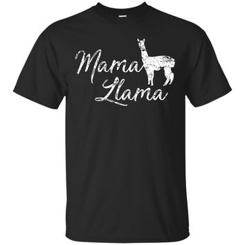Mama Llama Shirt, Funny Cute Mother's Day Gift for Mom