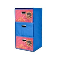 Disney Doc McStuffins Collapsible 3-Drawer Storage Chest