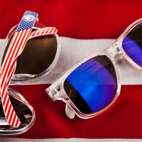 Heat Wave Visual Stars & Stripes Custom sunglasses: LTD.