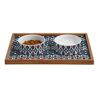 Sharon Turner Pepper Pestle Pet Bowl and Tray