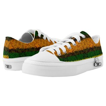 Tribal Reggae Nature Printed Low Top Shoes Printed Shoes