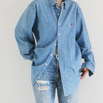 Vintage Ralph Lauren Denim shirts
