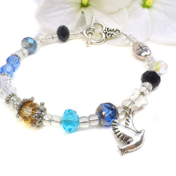 Memorial Poem Bracelet, Loss of Loved One, Sympathy Gift, Memorial Day Gift  D26