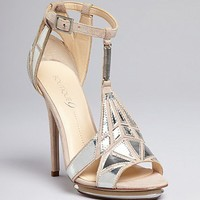 Boutique 9 Platform Evening Sandals - Orseena Art Deco | Bloomingdale's