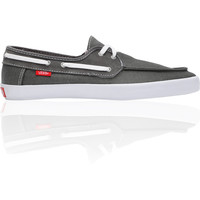 Vans Chauffeur Pewter & Red Boat Shoe