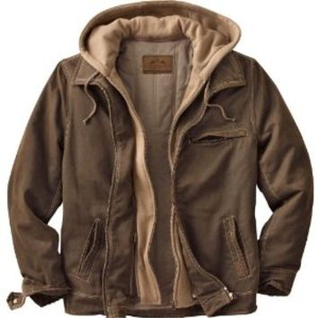 Legendary Whitetails Men's Rugged Brown Full Zip Dakota Jacket Brown X-Large Tall