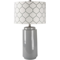 "Surya Hadley 29"" Table Lamp with Drum Shade"