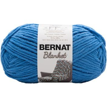 Bernat Blanket Yarn Coastal Collection Blue Velvet 300 Gram Skeins
