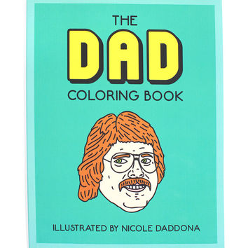 The Dad Coloring Book