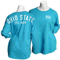Ohio State Buckeyes Spirit Shirt Maui Blue 394117