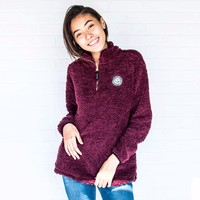 Fig Sherpa Pullover