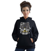 Stabilitees Hello Bat Kitty Funny Slogan Hoodies = 1927910212